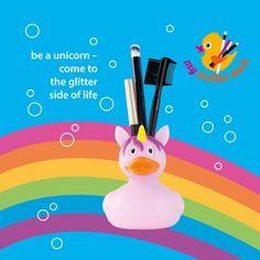 my toothie duck, Einhorn-Ente  In Rosa sieht die Welt gleich viel besser aus ;-)  #Einhorn #Unicorn