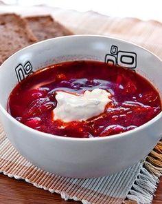 Ukrainian Borscht Recipe ~ Begin to explore the Ukrainian culture with this recipe!
