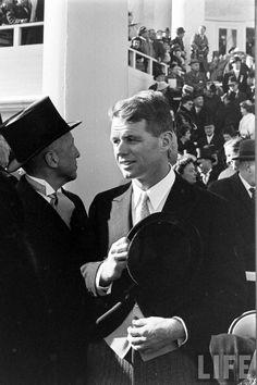 JFK Inauguration  Date taken:1961 Photographer:Paul Schutzer