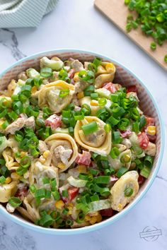 Tortellini, Pasta Salad, Potato Salad, Healthy Recipes, Healthy Food, Vegetables, Cooking, Ethnic Recipes, Food Time