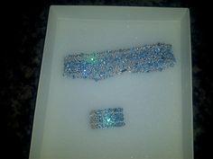 Bracelete feito com cristal