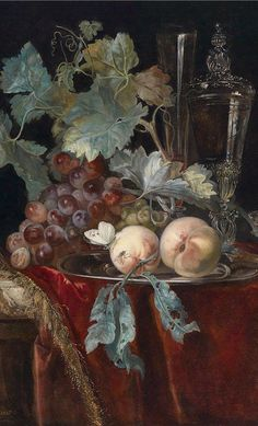 Willem van Aelst. - in the Baroque style, showing the lushness of life and the decay of death. Symbolism at it's finest.