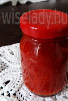Paprikakrém télire - Anya főztje Eat Pray Love, Ketchup, Salsa, Food And Drink, Canning, Drinks, Cook, Health Care, Red Peppers