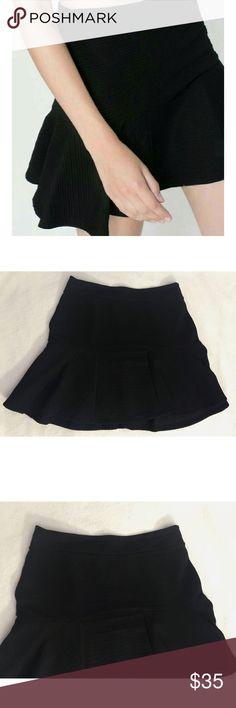 Zara, black flared mini skirt Zara Trafaluc, black flared mini skirt.                                                                                                                                                                                                                                                                     🌸 Fast shipper 🌸 Accept reasonable offers 🌸 I do bundle discounts too                                               🌸 No trades Zara Skirts