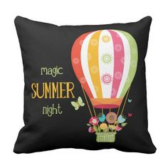Magic summer  #pillow #decorative #bohemian #chic