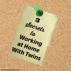 I've been working from home for a little over 5 years now. Three of those years I also worked outside of the home in the evenings and overnights. For the last two years I have been working at home . Boy Girl Twins, Twin Tips, Raising Twins, Twin Mom, Cool Writing, Best Blogs, Work From Home Jobs, Blog Tips, Extra Money