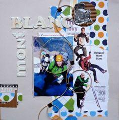 Klikněte pro zobrazení původního (velkého) obrázku Album, My Scrapbook, Baseball Cards, Mont Blanc, Card Book