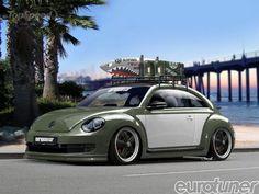 Car with Surfboards Beach | ... beetle beach battle-cruiser by european car magazine - DOC479647
