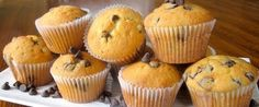 Muffiny s jablkami a čokoládou