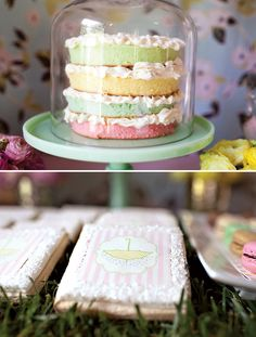 Easter/Spring Cake idea (no recipe and from a baby shower page)