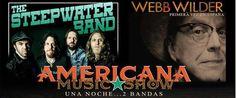 Americana Music Show con Webb Wilder y Steepwater Band en Valencia