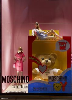 """La Rinascente, Milan, Italy, """"TRY ME"""", by MOSCHINO, pinned by Ton van der Veer"""