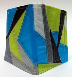 Mens Bifold Recycled Paraglider Wallet Geometric by OffChutes,