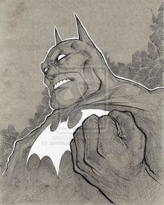 Dark Knight Batman by ~JamileJohnson