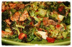 Roasted Broccoli Salad Recipe - Back Roads Living