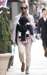 Beyonce and Baby Blue Spotting! Click Here to Read More!