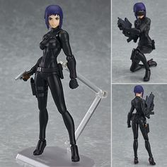 Ghost In The Shell The New Movie Motoko Kusanagi Figma Figure