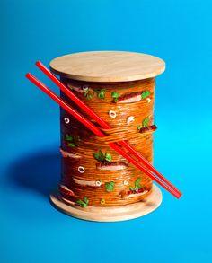 Mian Fan 2015. Série de visuels présentant les recettes des restaurants parisiens d'asian fusion food. ← Back