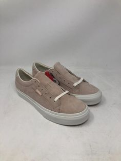 8cdc739415 VANS COURT DX PIG SUEDE SILVER SKATE SNEAKERS MEN S SIZE 5.5 WOMEN S SIZE 7  NWOB  fashion  clothing  shoes  accessories  unisexclothingshoesaccs ...