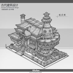 architectural design~2, G liulian on ArtStation at https://www.artstation.com/artwork/8kd9E?utm_campaign=digest&utm_medium=email&utm_source=email_digest_mailer