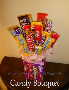 Candy Bouquet - Making Memories With Your Kids