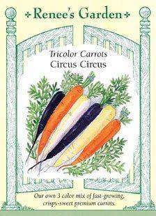 Renee's Garden Circus Circus Tricolor Carrots