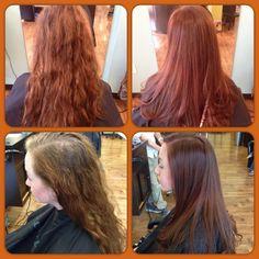 Color by me cut by @lilfreshtouch #arrojo #goldwell #getfresh #freshhair @afreshsalon #hairbyjose #topchic #colorance