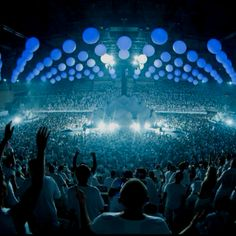 Sensation White 2012 here we come!! THEME - Innerspace :) BARCELONA