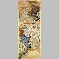 'Artichoke' wallpaper design by Morris & Co, produced in 1875..jpg