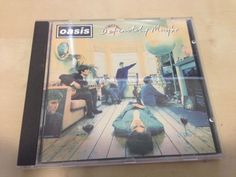 Definitely Maybe by Oasis (CD, Aug-1994, Epic (USA)) Oasis Cd, Definitely Maybe, British Invasion, Definitions, Usa, U.s. States, America