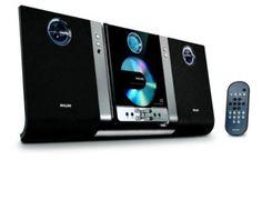 Amazon.com: Philips MC235B Micro Hi-Fi Shelf System (Black) (Discontinued by Manufacturer): Electronics