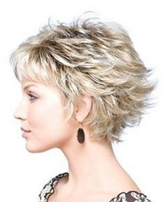 Short layered hairstyles for fine hair More