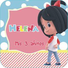 La familia Telerín - Página web de diseñokitdecumpleaños Daughter Birthday, 3rd Birthday, Birthday Ideas, Happy Brithday, Ideas Para Fiestas, Elements Of Art, First Birthdays, Baby Shower, Invitations