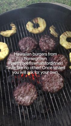 Hawaiian Burger, Charcoal Briquettes, Liquid Smoke, Beef Burgers, Backyard Bbq, Summer Bbq, Grilled Meat, Charcoal Grill, Bread Crumbs