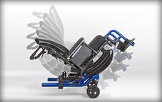 Ki Mobility Focus CR-Complex Rotation is a system that utilizes two control paths with two different centers of rotation to minimize the problems that result from the inevitable misalignment between the center of gravity of the system and a single rotation point.  http://www.kimobility.com/Product.action?productName=Focus+CR