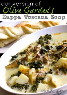THM Zuppa Toscana Soup - Trim Healthy Mama Canada | Healthy Family Foods