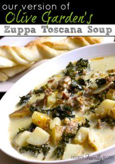 THM Zuppa Toscana Soup - Trim Healthy Mama Canada | Healthy Family Foods