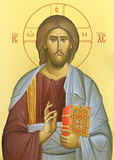 link to definition of myrrh - (tiny, beautiful icon of Christ) Christ Pantocrator, Day Of Pentecost, Roman Church, The Wedding Date, Light Of The World, Orthodox Icons, A Blessing, The Hobbit, Jesus Christ