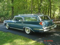1961 Chrysler New Yorker Town and Country Station Wagon