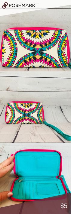Beach Wallet/ Clutch Perfect PVC bag to take to the beach or for festival season. Zips to store credit card and the essentials! Bags Clutches & Wristlets