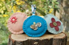 Beautiful hand sewn felt circle hangers in a variety of colours or 3 for (p&p not incl) 2 Colours, Beautiful Hands, Hand Sewn, Hangers, Decorating Your Home, Shabby Chic, Felt, Textiles, Rustic