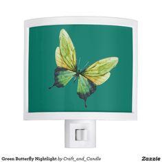 Green Butterfly Nightlight
