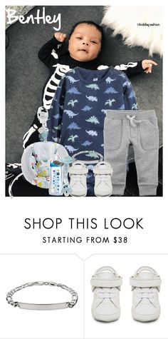 """""""2.4.18/ Benny slept through most of the game ~Bentley"""" by kiddiefashion ❤ liked on Polyvore featuring Fisher Price, BUSCEMI and Carter's"""