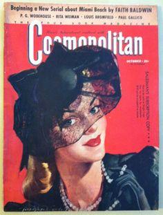 Cosmopolitan magazine, OCTOBER 1941 Artist: Bradshaw Crandell