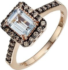 Le Vian Chocolatier Le Vian 14CT Strawberry Gold Quarter Carat Diamond Ring
