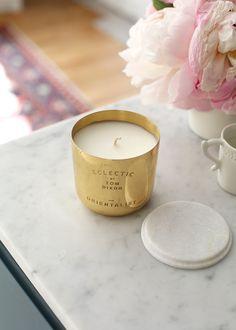 Sézane / Morgane Sézalory - Lifestyle - Tom Dixon Candle - #sezane #giftshop www.sezane.com