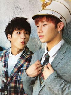 Woohyun and Sunggyu