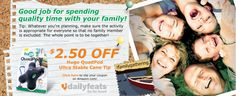 Family time! Save $2.50 on Hugo QuadPod  http://www.hugoanywhere.com/dailyfeats/familygathering/