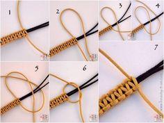 DIY: Brassard und Makramee, # brassard # - Tricot DIY: Brassard en Makramee, # brassard # – Tricot DIY: Armband in Makramee, # Frauenschmuck und Accessoires Macrame Bracelet Diy, Bracelet Crafts, Macrame Jewelry, Macrame Knots, Macrame Bag, Diy Bracelets Easy, Bracelets For Men, Gold Bracelets, Bijou Box