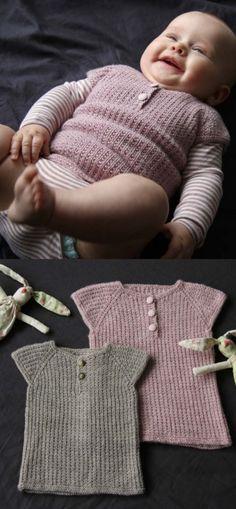 Baby Knitting Patterns Free Knitting Pattern for Iben a Baby Vest Crochet Baby Mittens, Knit Baby Sweaters, Free Crochet, Knitted Baby Clothes, Baby Knits, Hat Crochet, Crochet Ideas, Knit Vest Pattern, Sweater Knitting Patterns